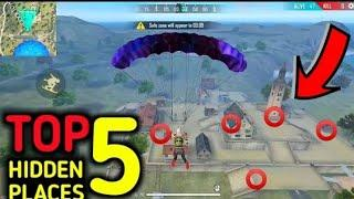 CLOCK TOWER HIDE PLACE IN FREE FIRE! TOP 10 HIDE PLACE IN BERMUDA! RANK PUSH tips! ff new events