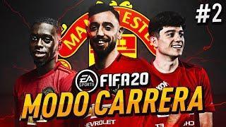 ¡FICHAJES! ¡EL NUEVO MANCHESTER UNITED! | FIFA 20 Modo Carrera ''Manager'' Manchester United - EP 2