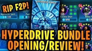 Hypderdrive Bundle Opening Review + Effect on a Brand New Account vs F2P Account! Should You Buy It?
