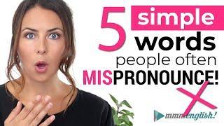 Back To Basics: Common English Words You May Mispronounce