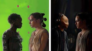 Amazing Before & After Hollywood VFX! [Lucas Arts, DNEG Stereo, Iloura] Part 4