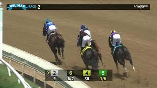 Thousand Words wins Shared Belief Stakes race 2 at Del Mar 8/1/20