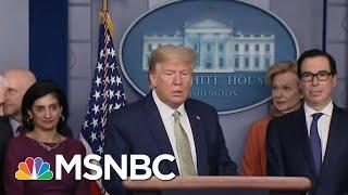 President Donald Trump Dubs Himself A Wartime President | Deadline | MSNBC