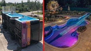 Most Amazing Swimming Pools Ever | Craziest Pool Designs