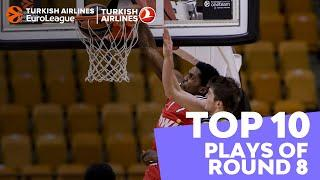 Turkish Airlines EuroLeague Regular Season Round 8 Top 10 Plays