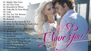 Top 100 Romantic Songs Ever   Best English Love Songs 80's 90's Playlist   Love Songs Playlist 2020♫