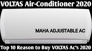 VOLTAS AIR-CONDITIONER 2020. TOP 10 REASON TO BUY VOLTAS AIR CONDITIONER IN 2020.