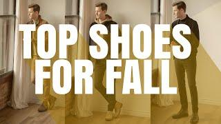 TOP 5 Shoes Every Man NEEDS This Fall | Men's Fashion Fall 2020 | Dorian & Ashley Weston