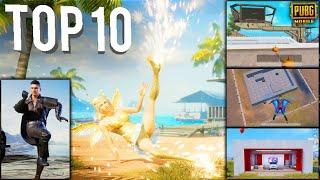 TOP 10 NEW FEATURES IN PUBG MOBILE | Part - 8 | Pubg New Update