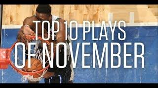 Top 10 Plays of the Month | November 2019