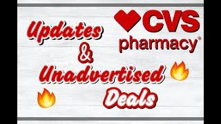 MUST WATCH | Unadvertised/Updates Deals at CVS | Free Makeup and Mouthwash | Shop with Sarah | 3-1