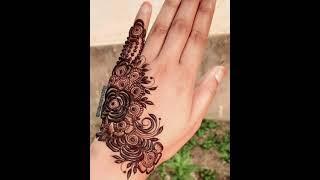 Top 10+ Mehndi Designs For Back Hand   Latest Arabuc Mehndi Designs 2021   Eid Collection