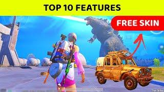 TOP 10 Features Of PUBG MOBILE New 1.4 UPDATE | PUBG MOBILE TITAN STRIKES Tips  & Tricks [ Hindi ]