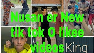 New top funny videos ||Nusan er tik tok O likee videos ||#King star.....