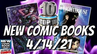 Top 10 HOT New Comics this Week |Comic Books releasing April 14th 2021