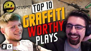 Top 10 Graffiti-Worthy CS:GO Plays
