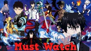2020 Top 10 MUST WATCH Anime List ! Action Anime With The Best Fight Scenes Of All Time!
