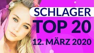 SCHLAGER CHARTS 2020 - Die TOP 20 vom 12. März