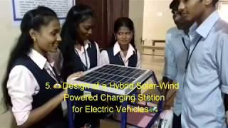 Best 10 Electrical Engineer Projects || My College Expo || ONLINE TECH