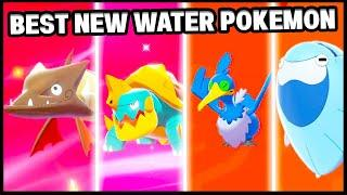 What Is The BEST NEW WATER TYPE Pokemon in Pokemon Sword and Shield!?