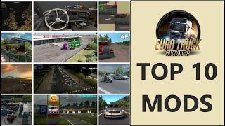 Top 10 MODS per Euro Truck Simulator 2