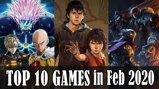 Top 10 Game Releases in February 2020