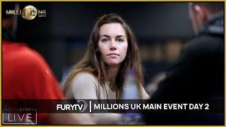 Millions UK Poker Main Event 2020 - Episode 1 (Day 2)
