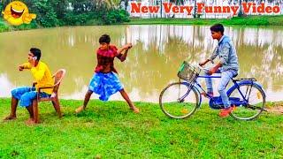 Hindi funny video Top Indian Comedy videos 2020 - Funny video Short _ Village boys Stupid Funny 2020