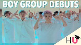 Top 25 K-Pop Boy Group Debuts | My Picks #8