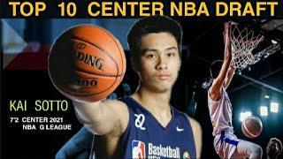 KAI SOTTO NAPASAMA SA TOP 10 CENTERS 2021 NBA DRAFT l  KAI SOTTO LATEST NBA 2021 RANKING UPDATE