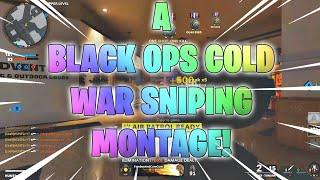 A Black Ops Cold War Sniping Montage!