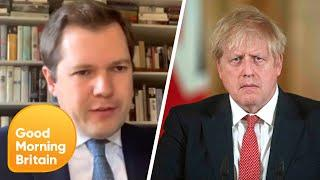 Prime Minister Boris Johnson Spends the Night in Hospital with Covid-19 | Good Morning Britain