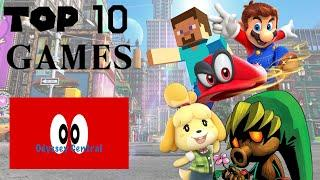My Top 10 Favorite Video Games Of All Time (2019 Special)