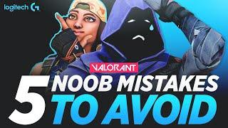 VALORANT: Top 5 Common Mistakes EVERY New Player Makes! And how to avoid them | Valorant Tips (TSM)