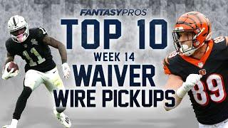 Top 10 Waiver Wire Pickups for Week 14 (2020 Fantasy Football)