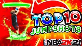 TOP 10 JUMPSHOTS FOR ALL BUILDS AFTER PATCH 5 | BEST BIG MAN JUMPSHOT | BEST GUARD JUMPSHOT NBA 2K21