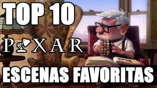 Top 10 Escenas favoritas de Pixar