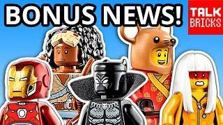 BONUS LEGO NEWS! Billion Brick Race Movie Details! TOP 10 2020 SETS! New LEGO Masters! & MORE!!
