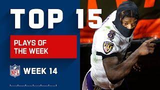Top 15 Plays of Week 14 | NFL 2020 Highlights