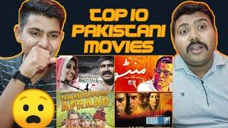 Top 10 Pakistani Movies of All Time | Super Hit Pakistani Movies | Indian Reaction