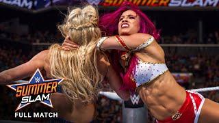 FULL MATCH - Sasha Banks vs. Charlotte Flair – WWE Women's Title Match: SummerSlam 2016