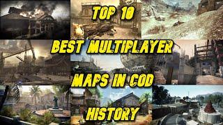 Top 10 Best Multiplayer Maps in Call of Duty - Call of Duty History - Multi COD Gameplay