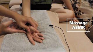 Hand Massage for Relaxation | Finger Cracking | Massage ASMR