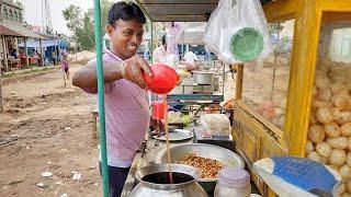 Eating Big Panipuri (Fuchka / Golgappa) | Indian Street Food | Bengali Street Food