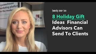 8 Holiday Gift Ideas Financial Advisors Can Send To Clients