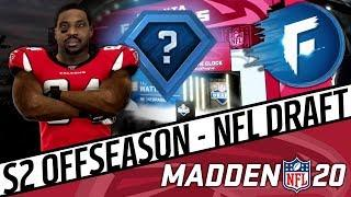 TOP-10 PICK, HIDDEN DEVS & TEN DRAFT PICKS   Madden 20 Falcons Franchise S2 Draft (Ep. 41)