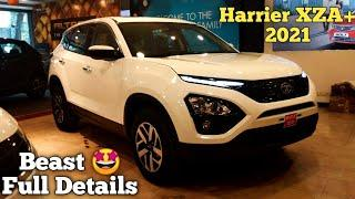 2021 Tata Harrier XZA Plus AT /Top Model /On-Road Price, Mileage, Features, Warranty, Specs /Worth ?