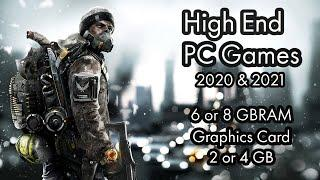 Top 5 High End Pc Games | 6 or 8 GBRam Games | New Games 2020 or 2021 | Wild Gangsters