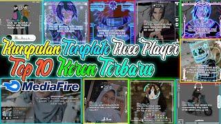 Kumpulan Template Line art dan Literasi Avee Player Keren || Top 10 template avee player