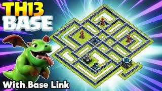 *HORROR* NEW TH13 War Base & TH13 Legend League Base - CoC Anti 3 Star Town Hall 13 - Clash of Clans